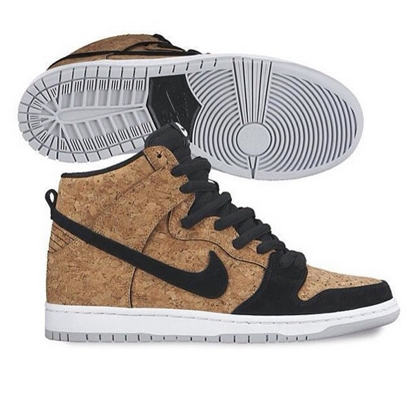 Nike Sb Dunk High Cork Kicksonfire Com Nike Dunks Nike Nike Free Shoes
