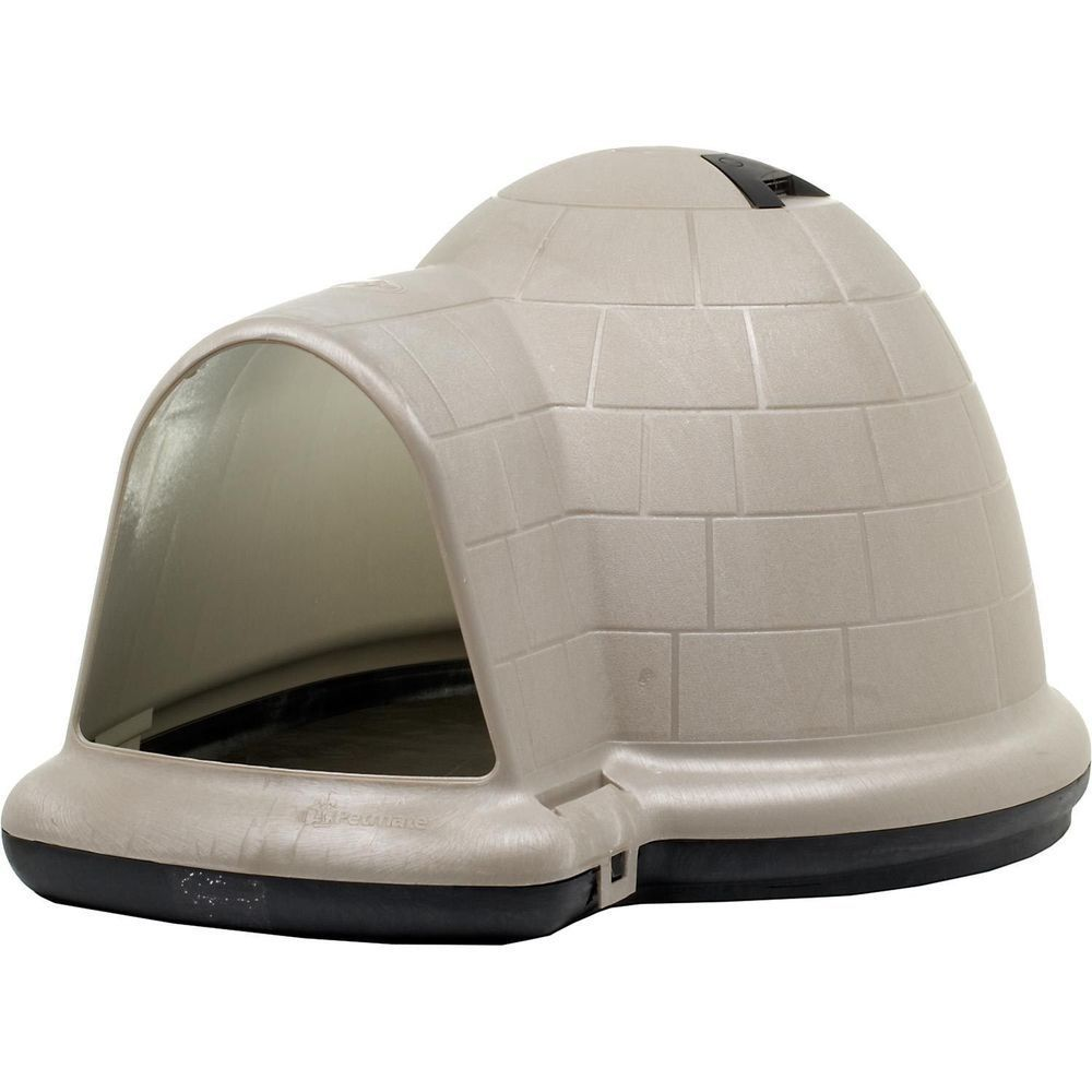Pet Dog House Igloo Style Medium Sized Dogs Shelter Home All Weather Durable Doghouse Dog Pet Cute Buy It Now Wh Igloo Dog House Cool Dog Houses Dog House