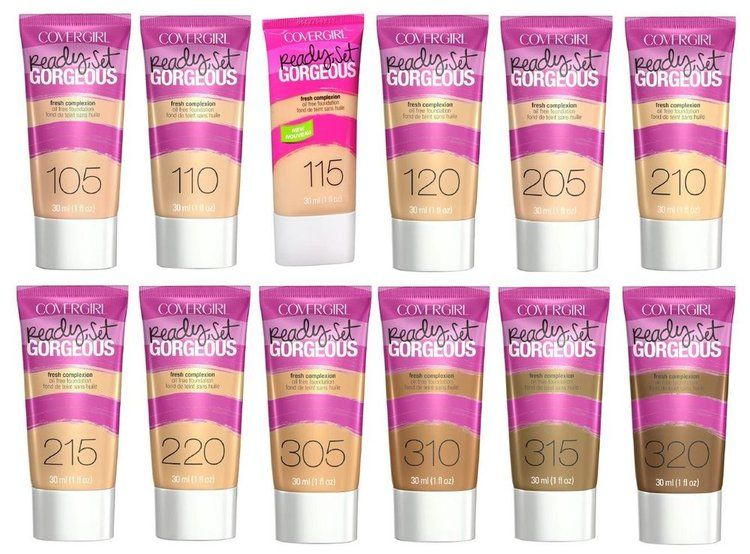 COVERGIRL Ready Set Gorgeous Foundation | Really Good