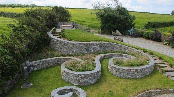 mary reynolds garden on The Unlikely Charming Designer Who Is Changing The Face Of Gardening Irish Garden Spiral Garden Garden Design