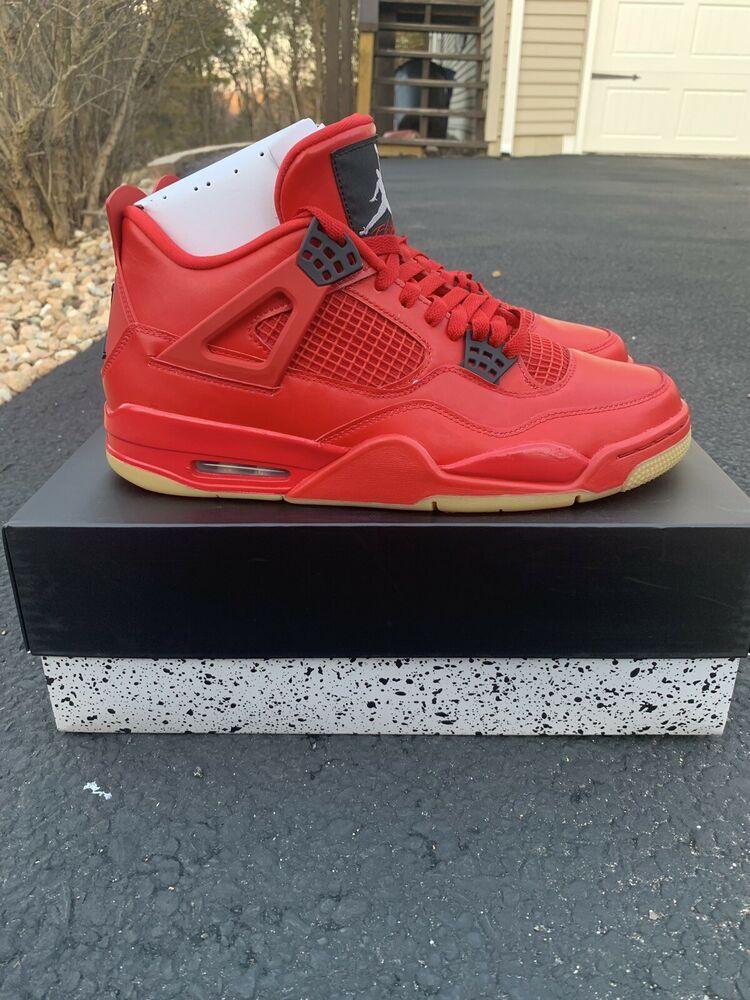 best sneakers b5408 4c659 Nike Women Air Jordan Retro IV 4 NRG Singles Day Fire Red White Black  AV3914-