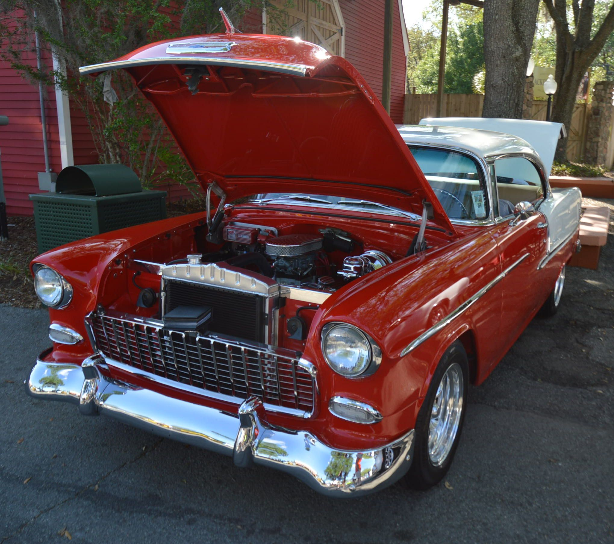 Chevy BelAir. CarStorian at the National Street Rod