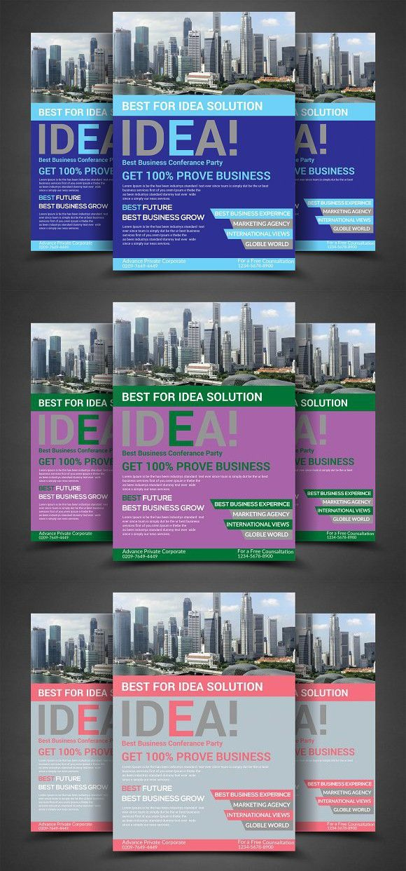 Business Flyer Marketing Marketing Pinterest Business flyers