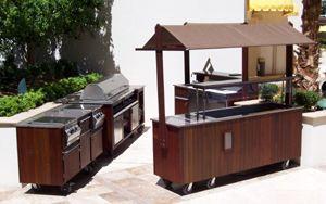 Professional Outdoor Kitchen Set | Portable bar, Portable ...