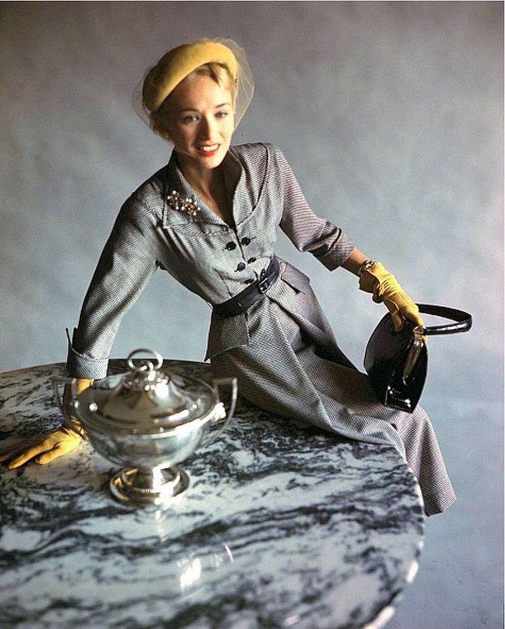 Sandra Nelson, photo by Horst, 1948