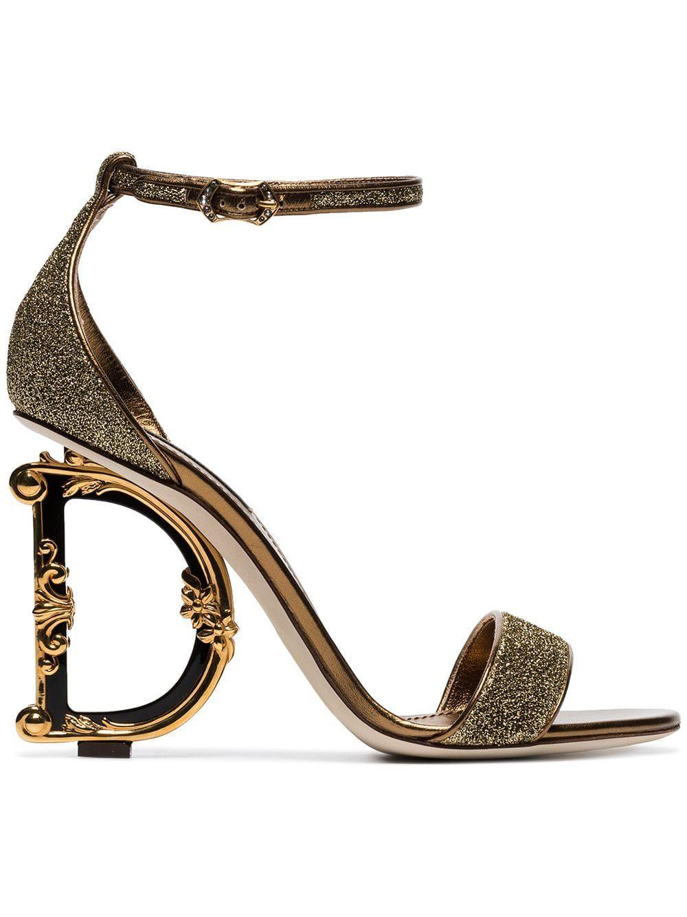 SCULPTED HEEL. #dolcegabbana #shoes