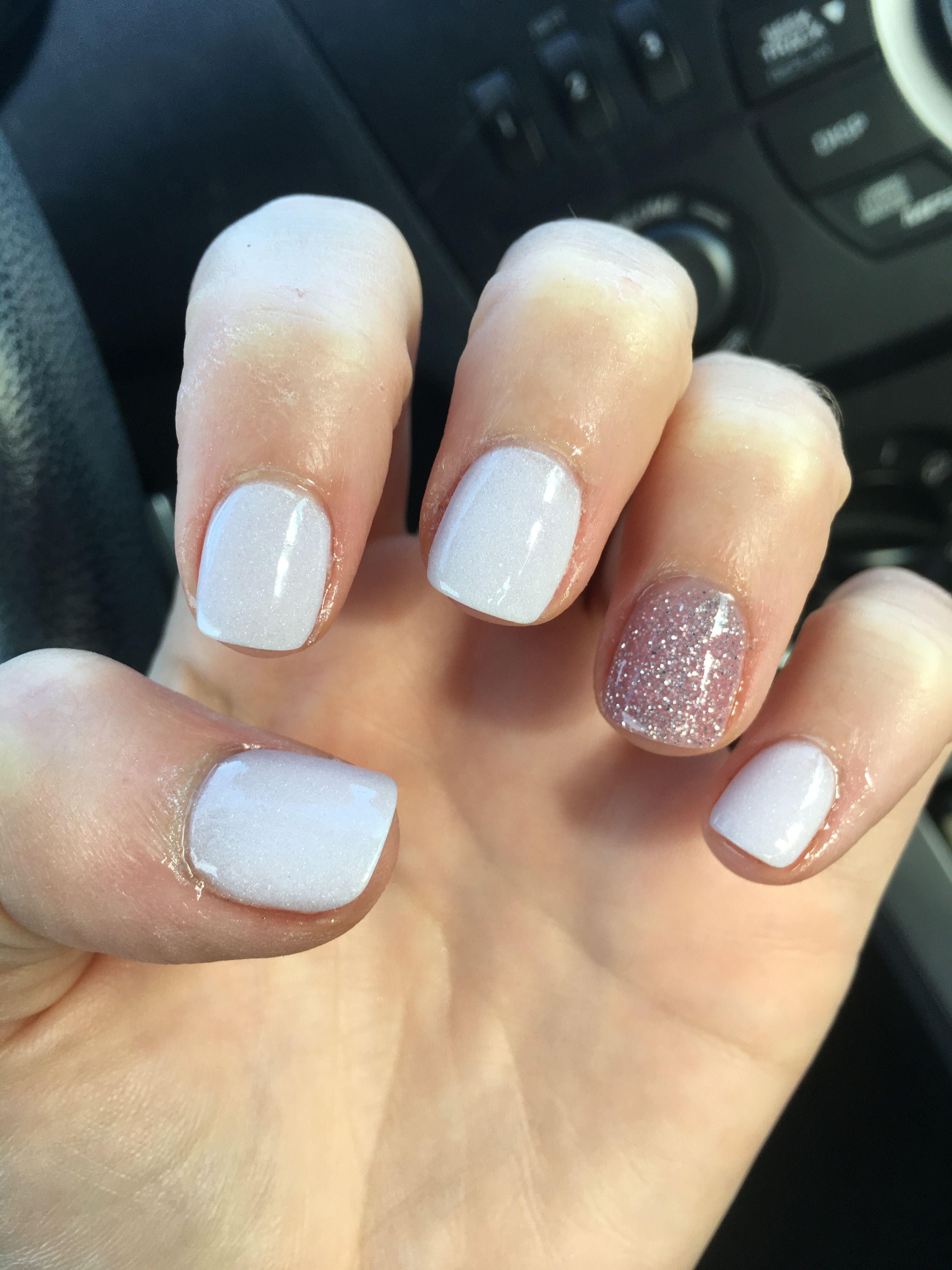 New Year 2018 Nexgen acrylic nail dip | Nailed it! | Pinterest ...