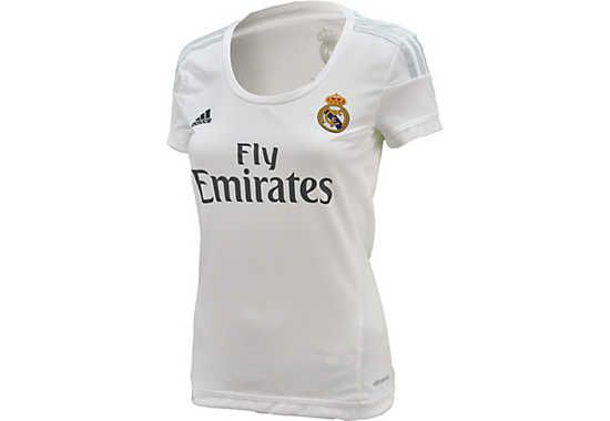 f0144a8c604 adidas Women s Real Madrid Home Jersey 2015-2016. Shop at www.soccerpro.com  today!