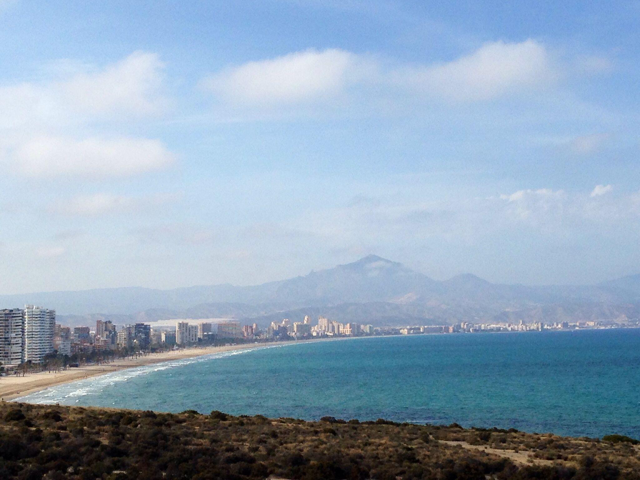 Cabo de Huertas, camino del faro. Alicante.