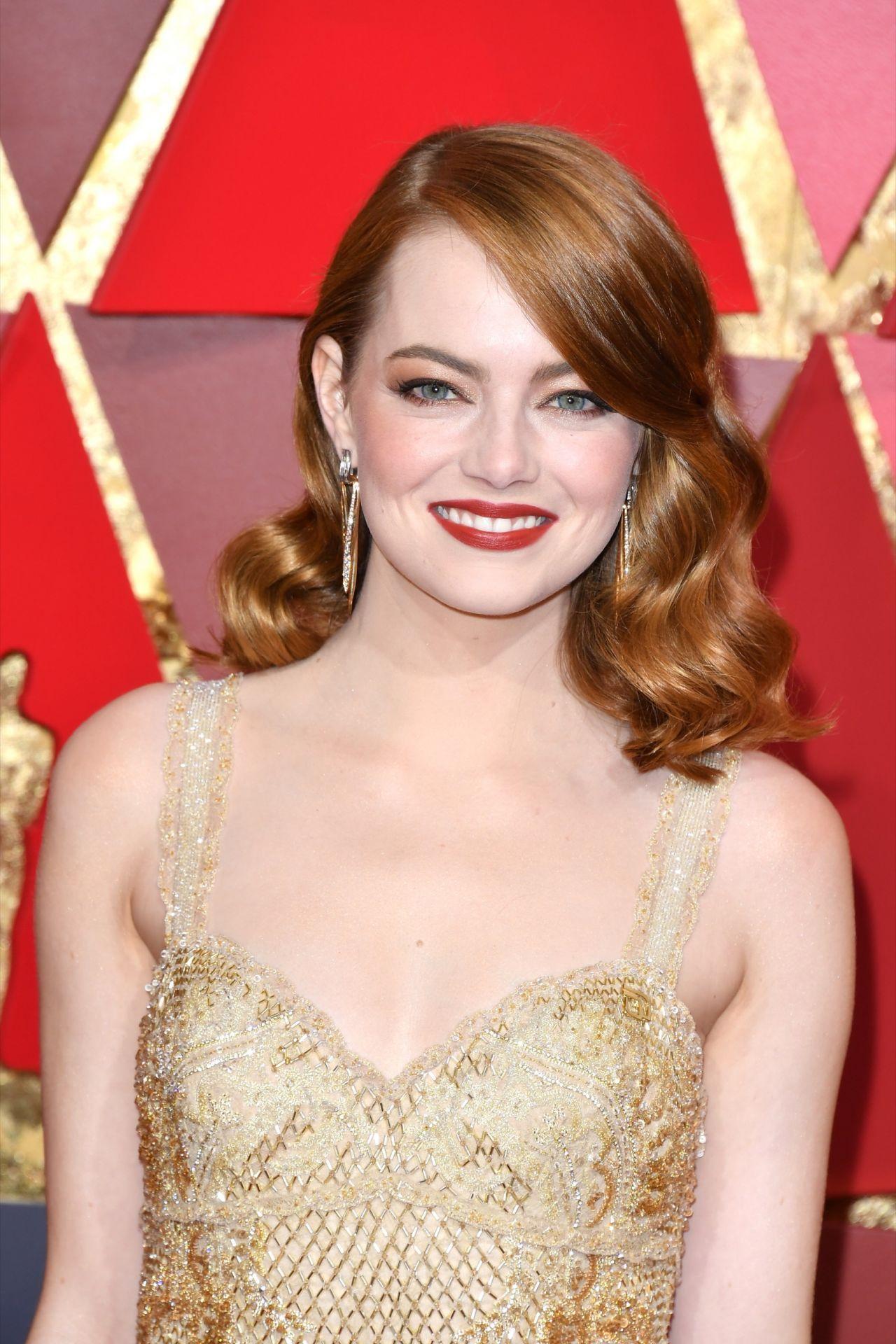 Emma Stone – #EmmaStone Oscars 2017 Red Carpet in ...