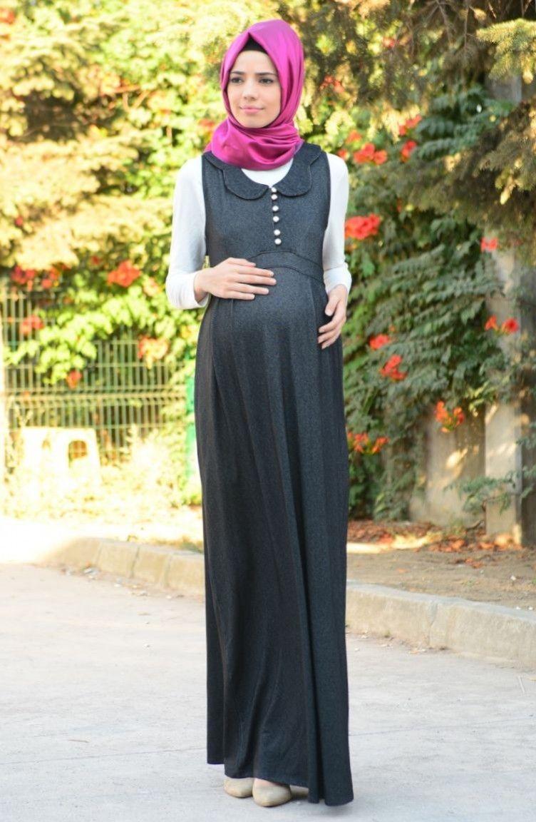 4beb07e5230f8 Sefamerve Tesettür Hamile Jile Modelleri | Tesettür | Elbise ...