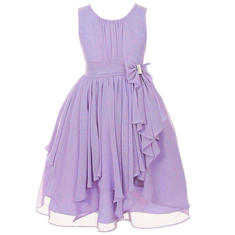 Hotsale chiffon flower tulle dress 2017 girls summer cute dresses ...
