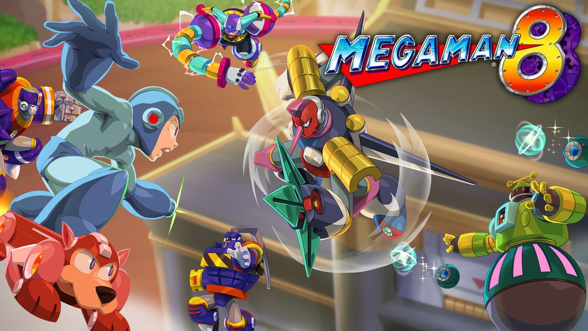 Mega Man 8 Legacy Collection 2 By Thechamba Ilustracoes