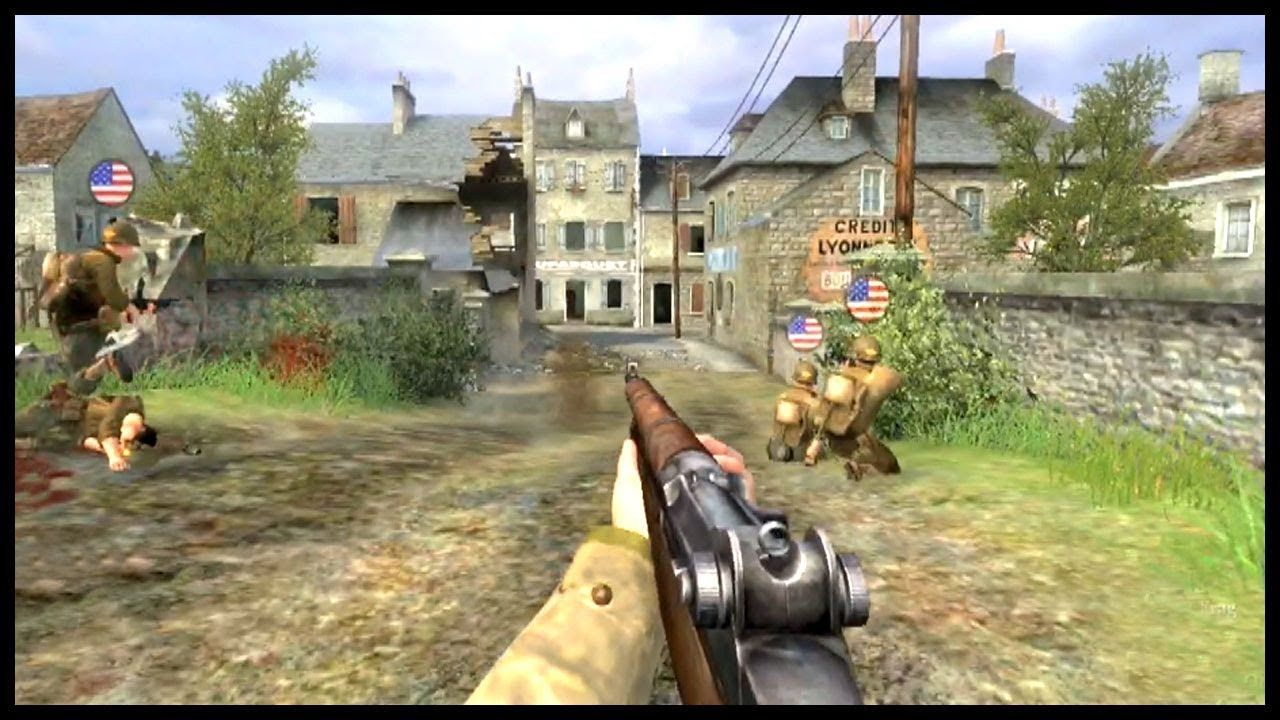 CARENTAN (Episode 1) Call of Duty 2 Multiplayer