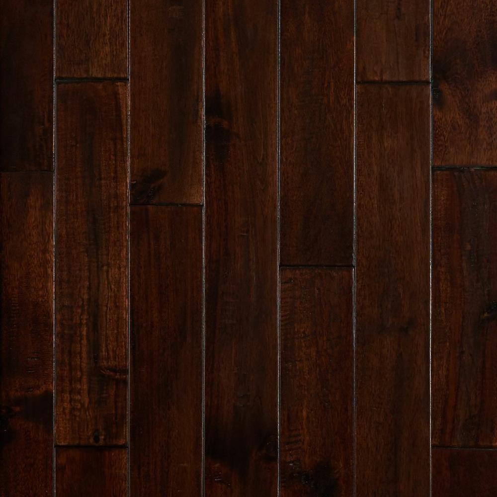 Black Walnut Hand Scraped Solid Hardwood   Floor & Decor   Solid ...