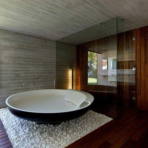 Freistehende badewanne rund  freistehende badewanne rund groß | Salle de bains | Pinterest ...