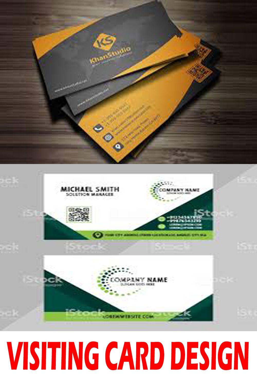 Najmuldesigner I Will Design 2 Creative Logo Design For 10 On Fiverr Com Visiting Cards Visiting Card Design Business Card Photoshop