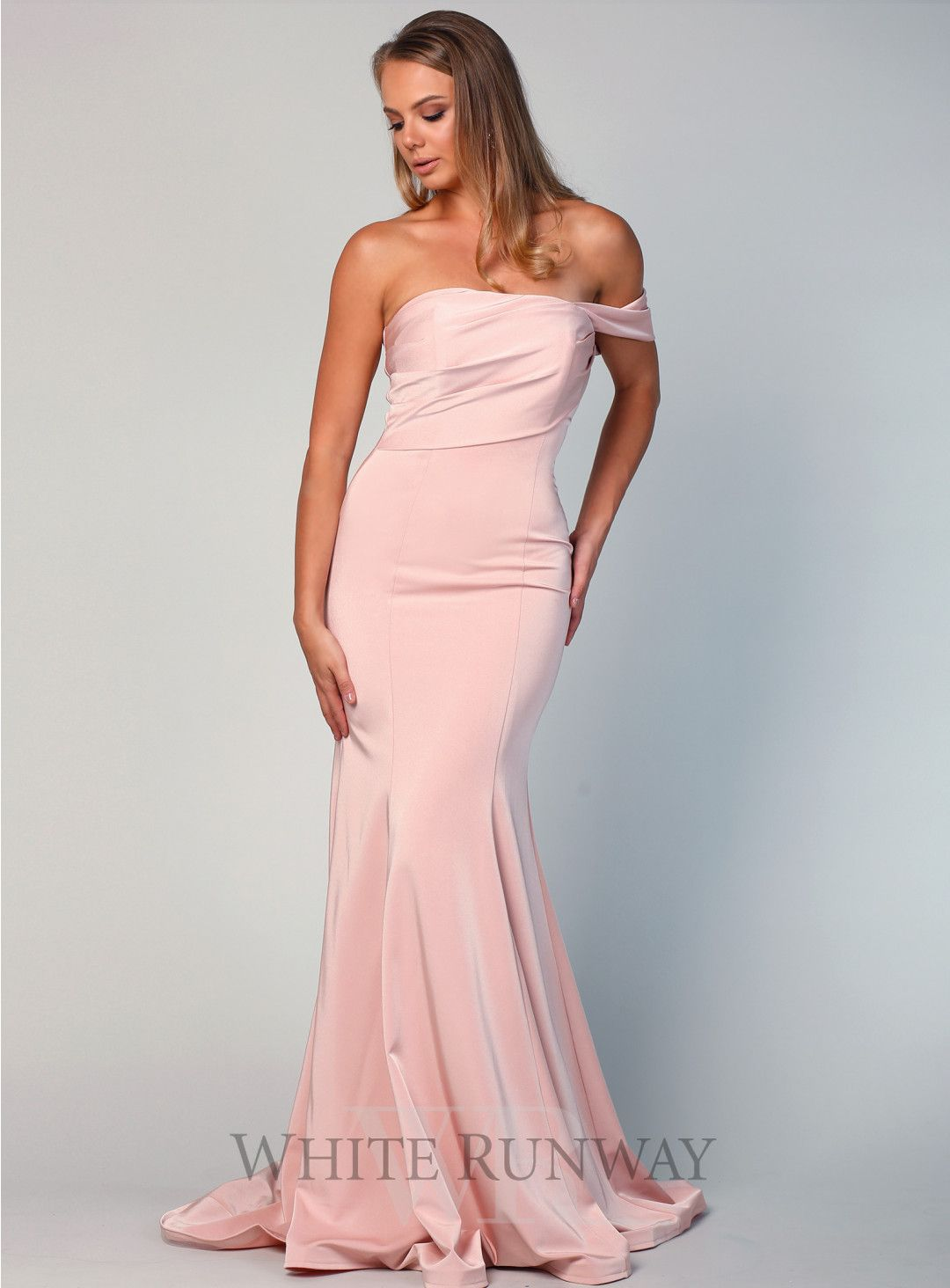 78bb9f6f9e Leila Gown. A beautiful full length gown by Tinaholy. A fitted style  featuring ruched detailing in the bust and comes with small train.