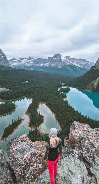 Bc Guided Hiking Trip Canadian Remote Adventure Tours: Hiking Guide To Lake O'Hara Viewpoint