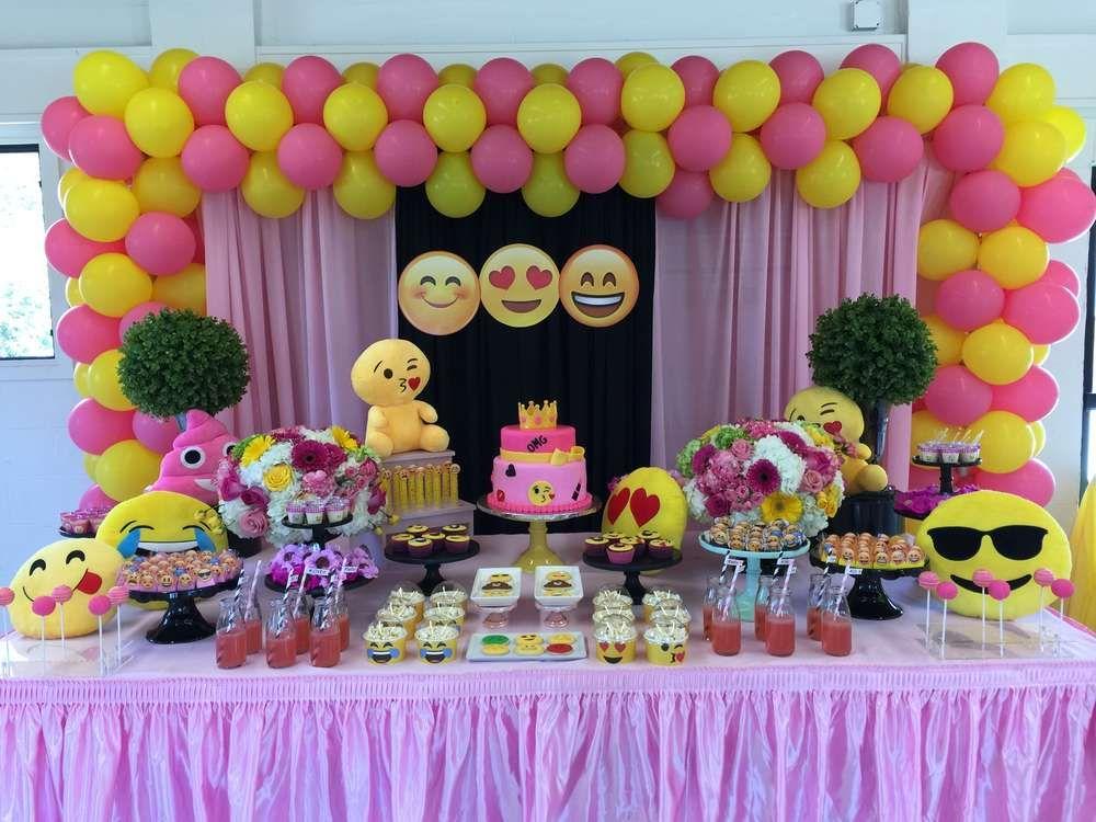 Emoji Birthday Party Ideas In 2019