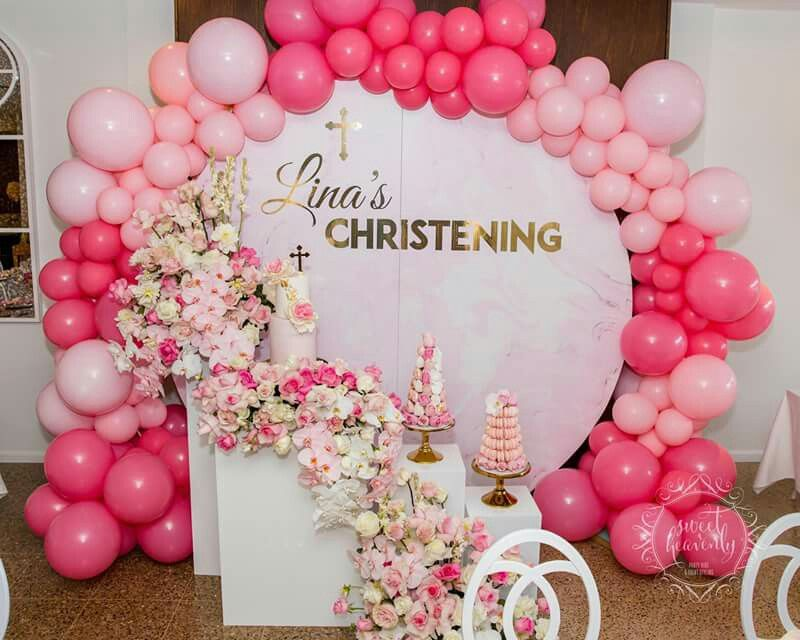 Pin By Angela Taylor Dargin On Organic Balloon Christening