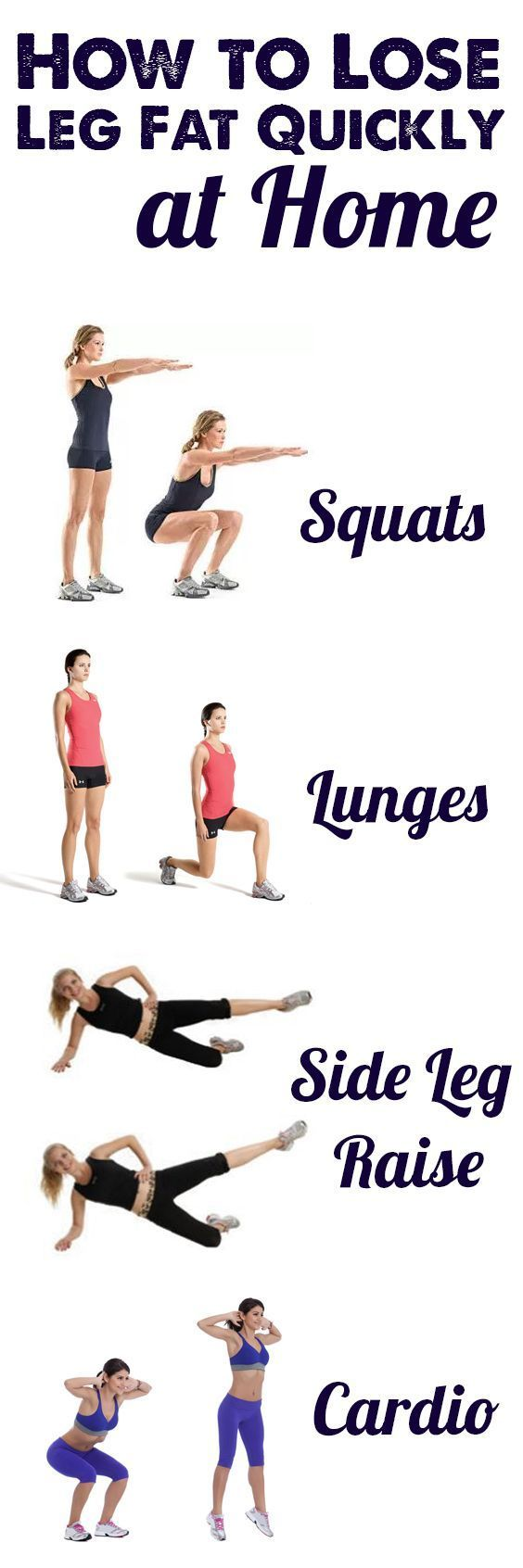 How to lose weight in the legs 3