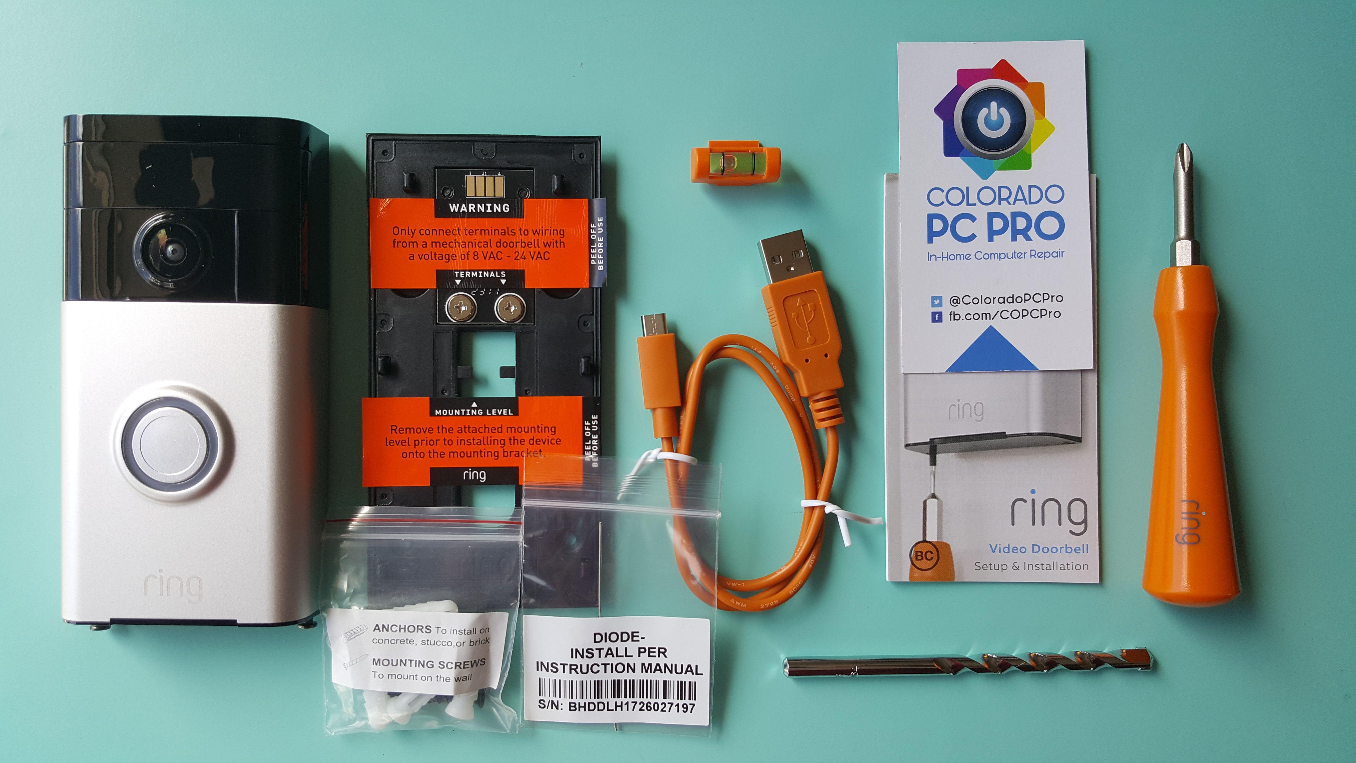 Smart Home Series Ring Video Doorbell Video Doorbell Ring Video Doorbell Doorbell Install