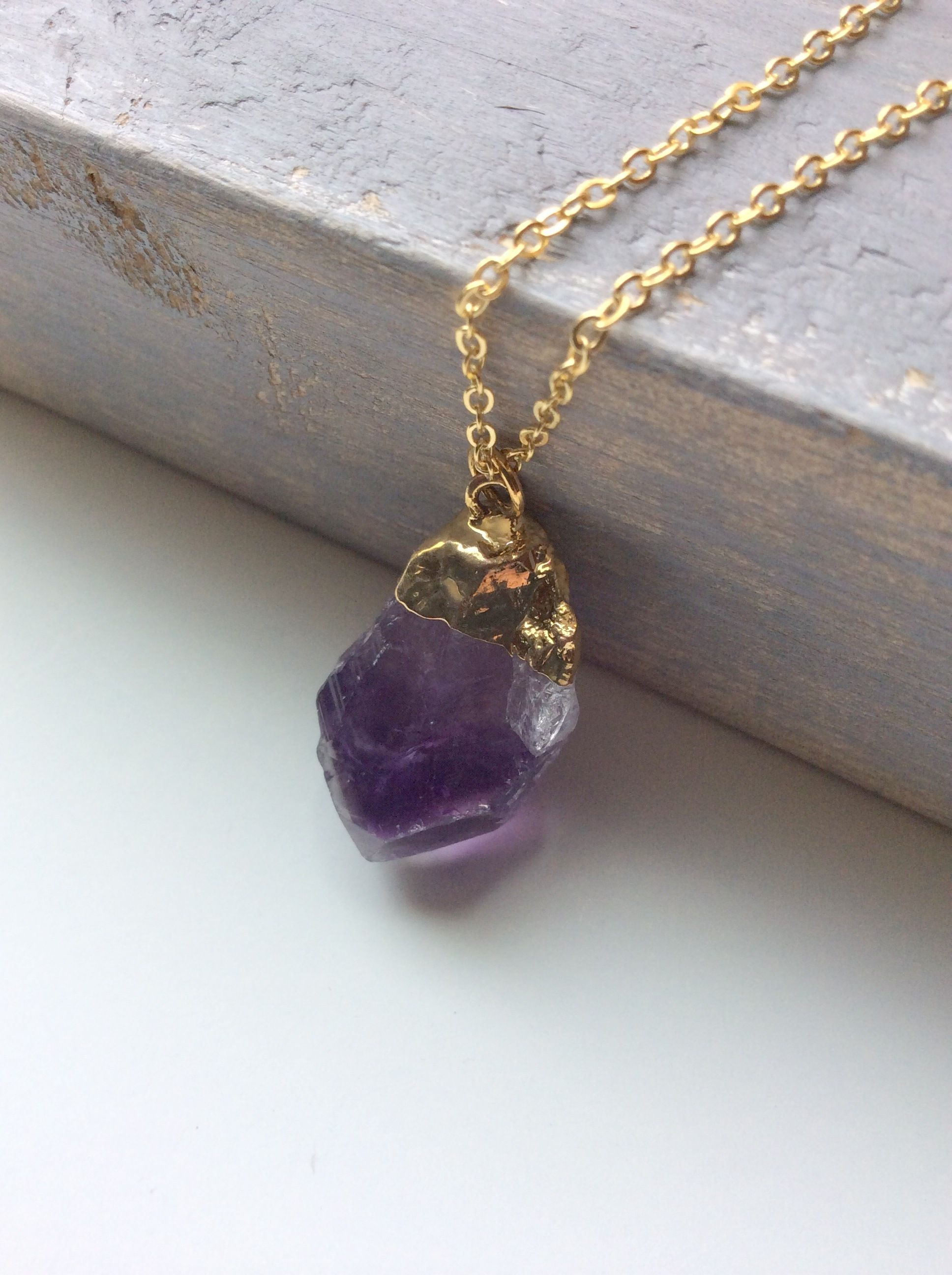 Rough cut amethyst pendant jewelry pinterest rough cut rough cut amethyst pendant aloadofball Gallery