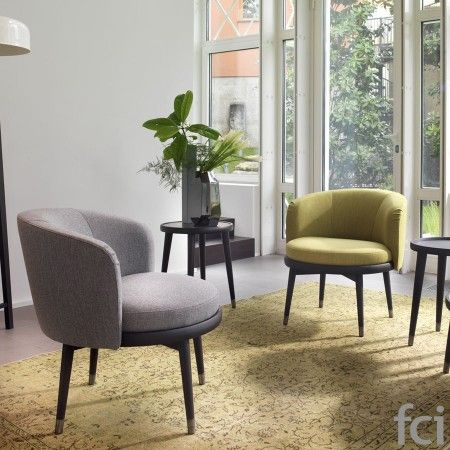 Daphne #Armchair by #Porada starting from £1,584. Showroom open 7 days a week. #fcilondon #furniture_showroom_london #furniture_stores_london #porada_furniture #porada_dining_chairs #modern_dining_chairs #stylish_dining_chairs