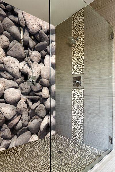 Smart Design Kieselsteine In Der Dusche Verlegen Haus