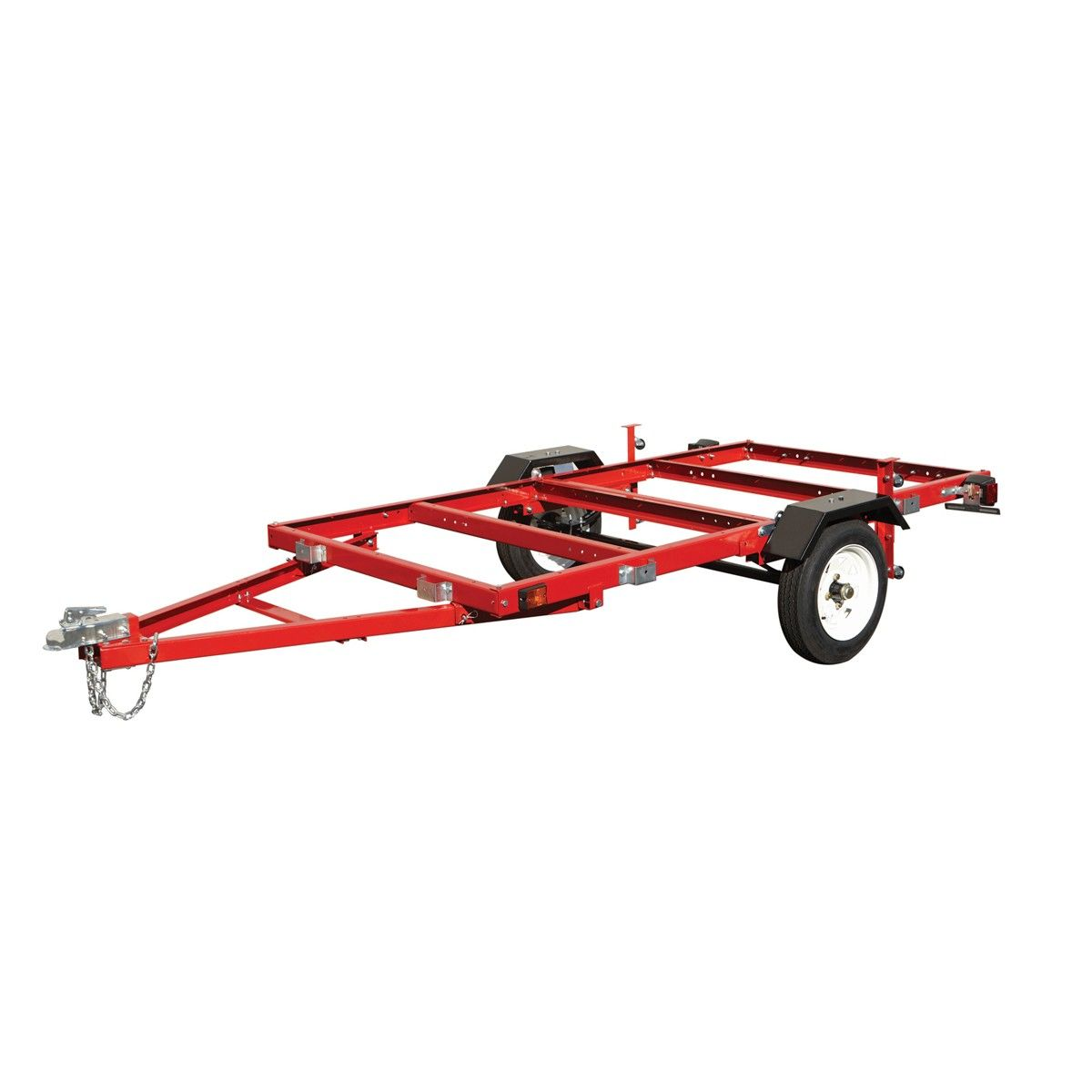"Harbor freight. Haul-Master 90154 1195 Lb. Capacity Heavy Duty Folding  Utility Trailer, 48"" x 96"" Great base for kayak trailer, 12 "" wheels"