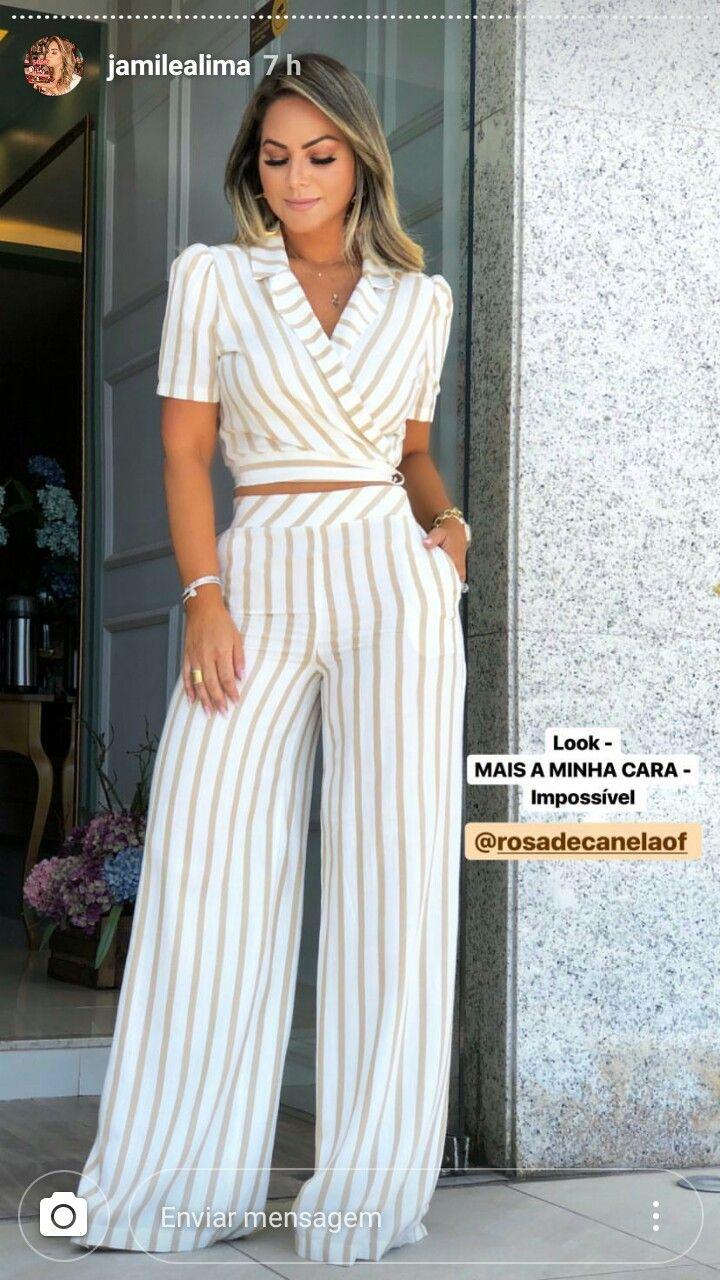 Conjuntos Elegantes Pantalones De Moda Mujer Ropa De Moda Pantalones De Moda
