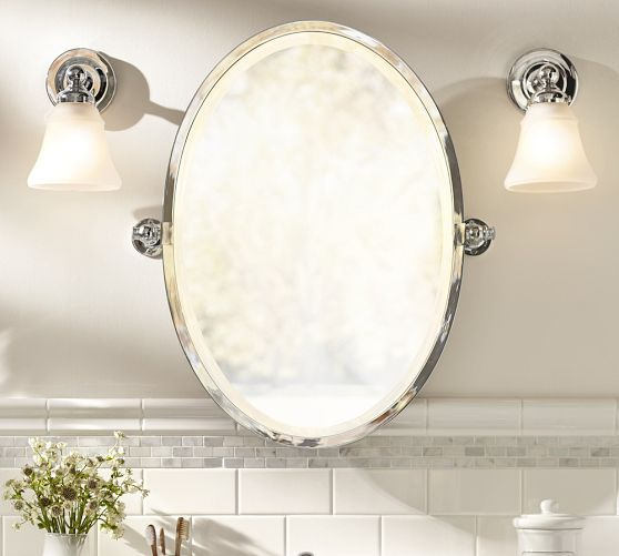 Bathroom Mirrors Oval Tilt Mirror okay!, im totallt goign to create this look for less in my half