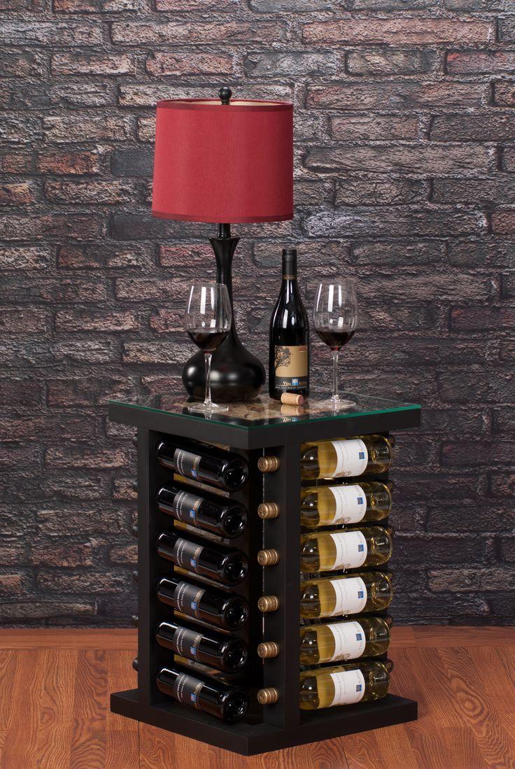 Ingenioso mueble para almacenar nuestras botellas de vinos - Muebles para almacenar ...