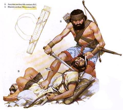 Arquero Asirio, 8th Centuria Arquero Elamita, 7th Centuria