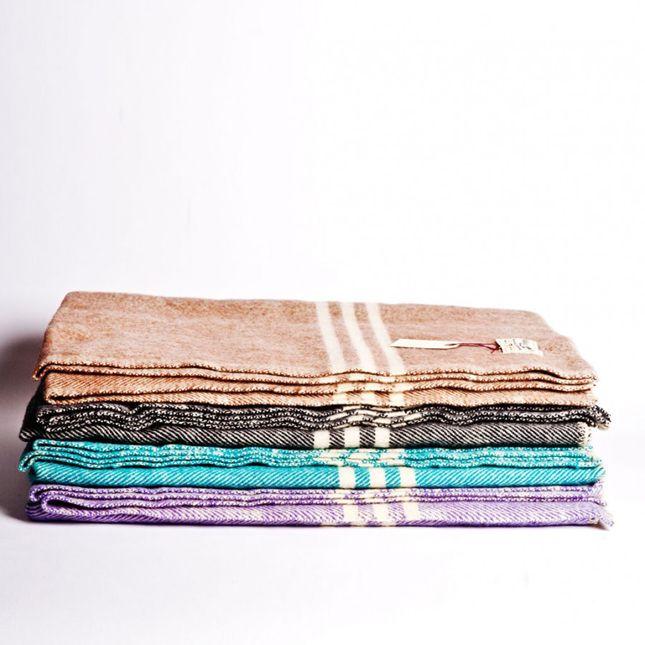 Geschenkideen für Designliebhaber und alle, die Designfans beschenken möchten. Bunte Decken / Colourful Throws