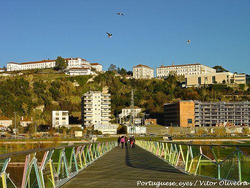 Ponte Pedonal Pedro e Inês - Coimbra - Portugal
