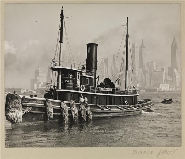 Tug Boat In The East River