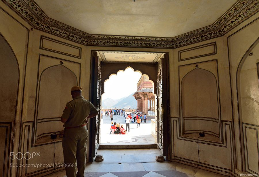 Popular on 500px : Amber Fort: View on the courtyard by AnatolyBerman