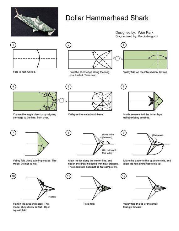 dollar origami diagrams enthusiast wiring diagrams u2022 rh rasalibre co Directions to Make Money Origami Money Origami Car
