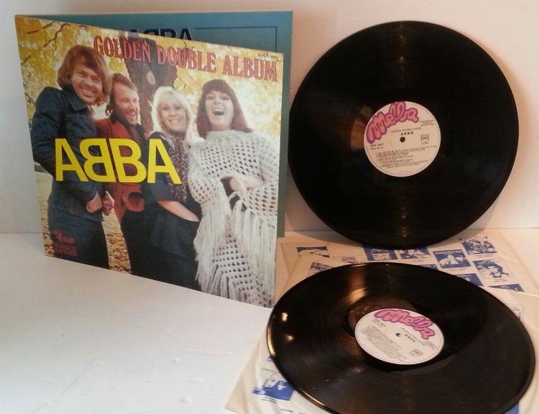 ABBA, golden double album - ROCK, PSYCH, PROG, POP, SHOE GAZING, BEAT