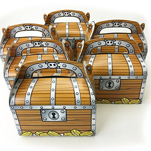Adorox Pirate Treasure Chest Decoration Party Favor Goodi... https://www.amazon.com/dp/B016NCVUYS/ref=cm_sw_r_pi_dp_x_0zjbzbQXX2Z1X