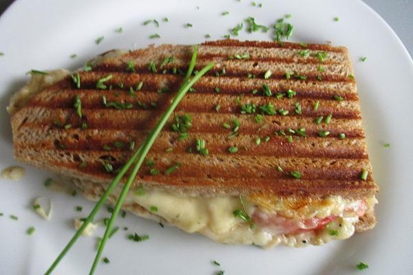 Sandwich Ohne Sandwichmaker