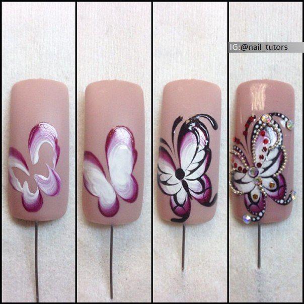 Nails University. Ногти и Маникюр пошагово. | Nail designs | Pinterest
