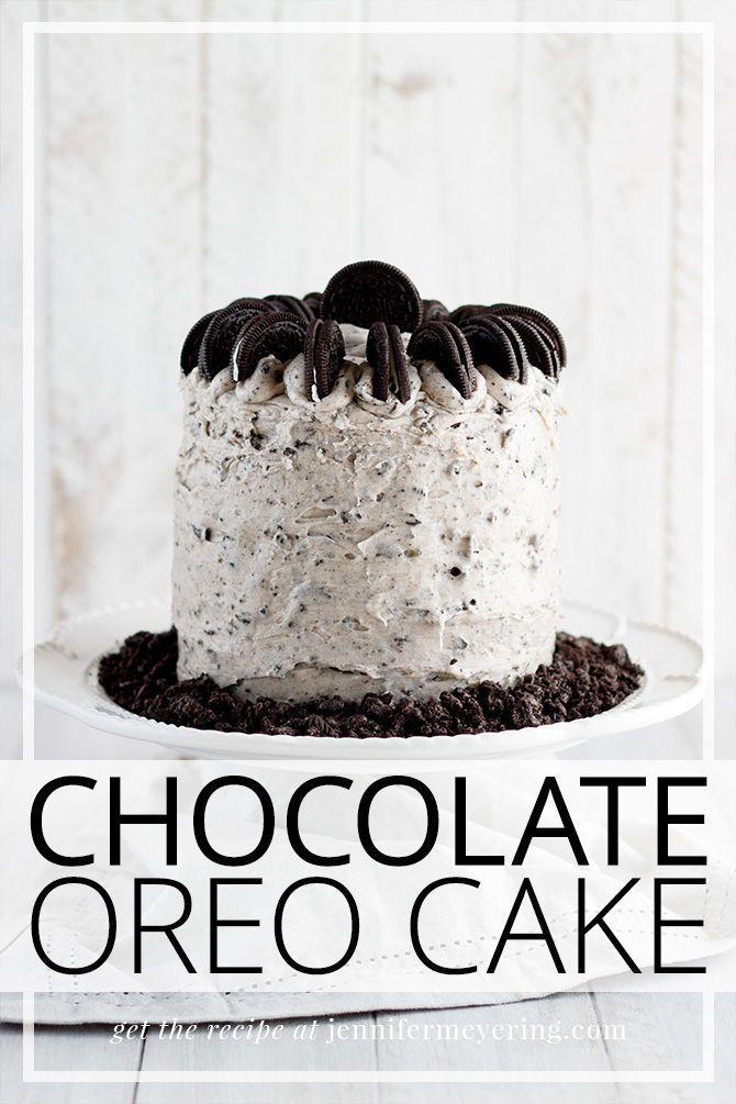 Chocolate Oreo Cake - Jennifer Meyering