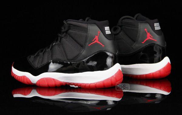 nike air jordan retro 11 bred shoes (2012) chin