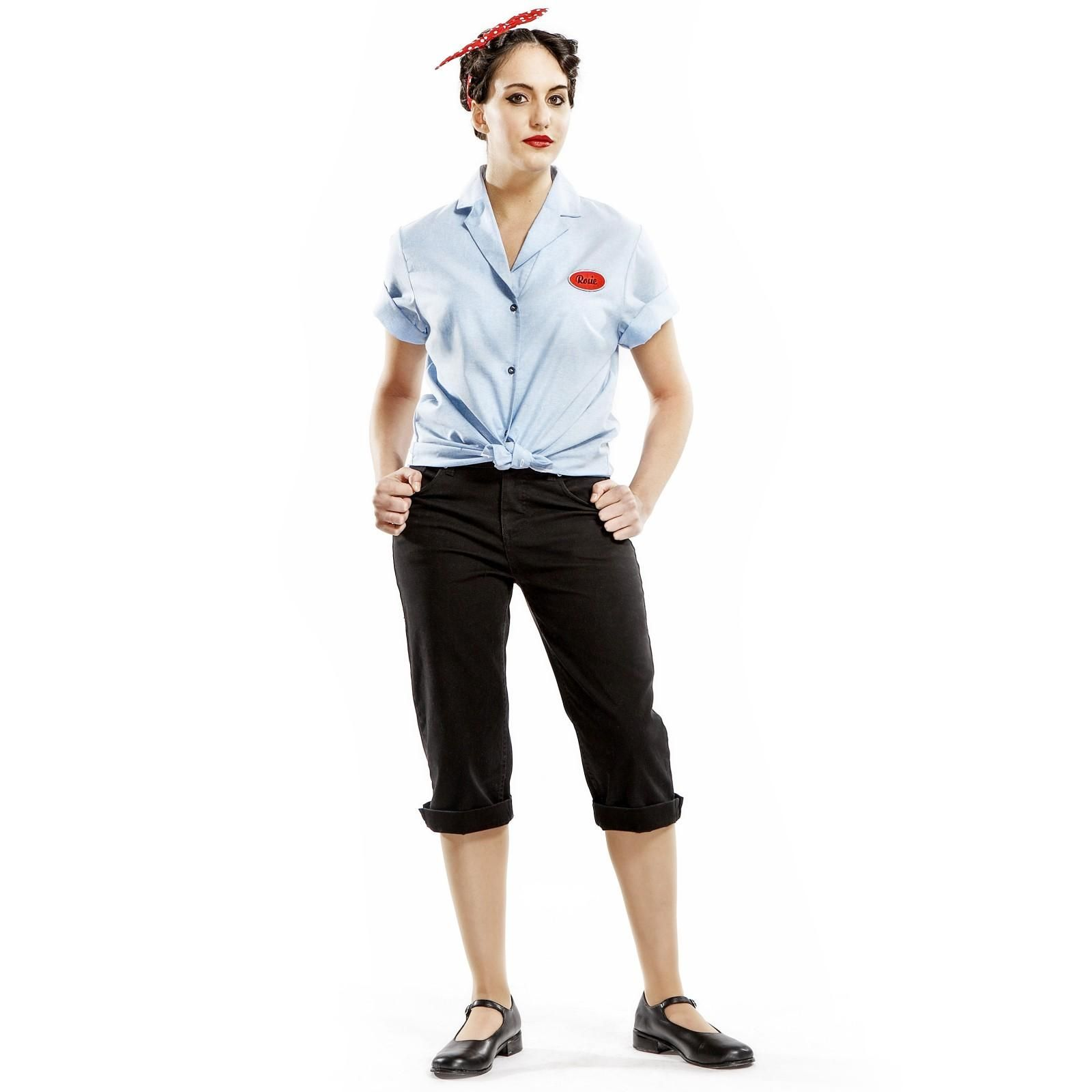 explore rosie the riveter costume rosie riveter and more - Rosie The Riveter Halloween Costume