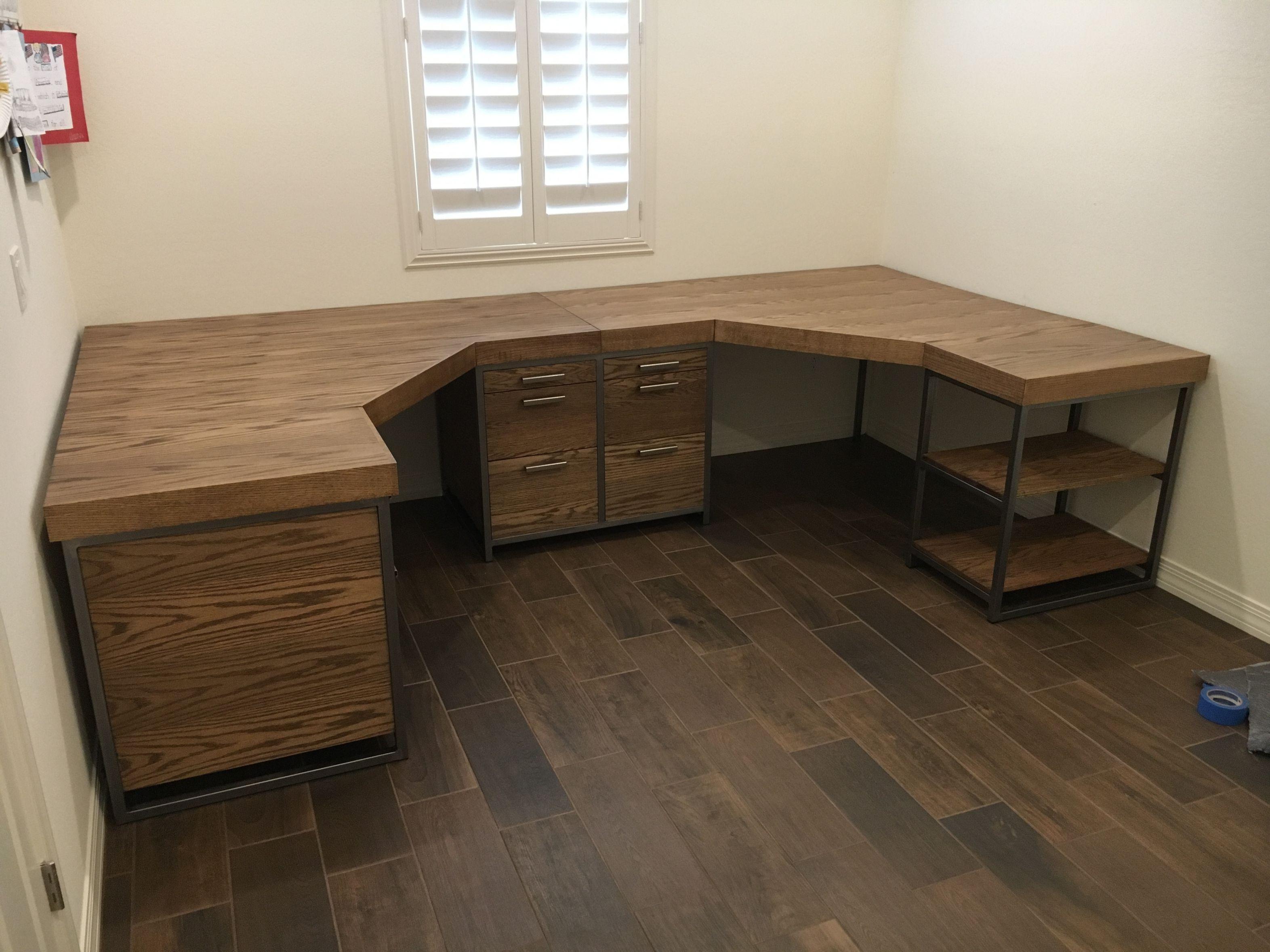 Diy Industrial Desk Plans