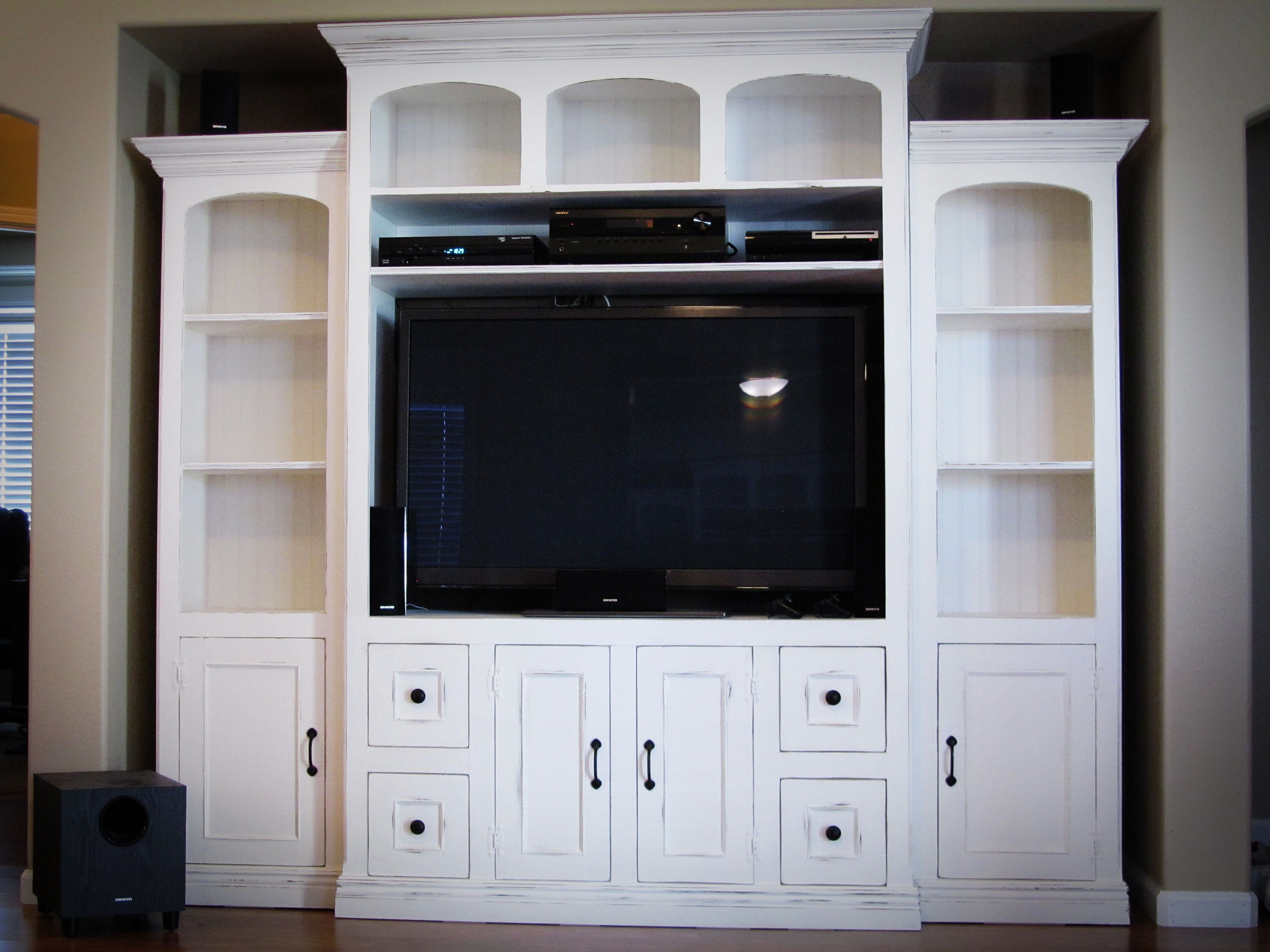 Our Next Diy Project I Love Ana White Com We Have Made Many Projects Using Her Woodworking White Entertainment Center Entertainment Center Diy Entertainment