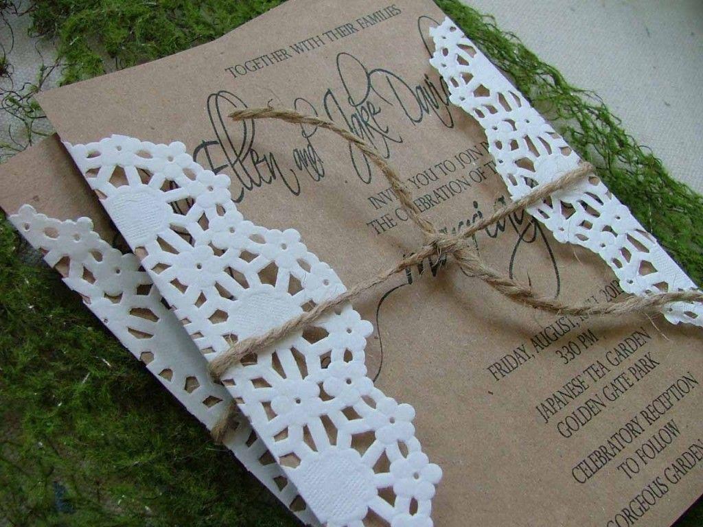 invitaciones de boda rusticas | Comunión | Pinterest | Wedding dress ...